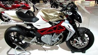 8. 2014 MV Agusta Brutale 1090RR Walkaround - Debut at 2013 EICMA Milan Motorcycle Exhibition