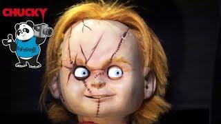 CHUCKY Scare Zone - Live Puppet - Universal Halloween Horror Nights - HHN28