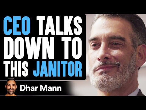 Ceo Talks Down To Janitor, Wife Teaches Him A Lesson | Dhar Mann