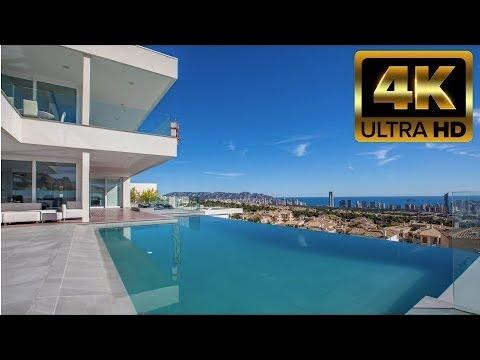 Вилла премиум-класса с видом на море в элитном районе Сьерра Кортина. Виллы Hi-Tech в Испании