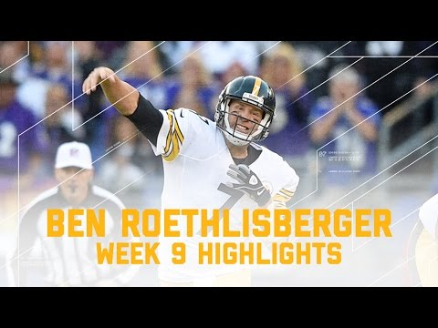 Video: Ben Roethlisberger Has Rough Day Against Ravens Defense!   Steelers vs. Ravens   NFL