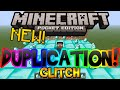 Minecraft Pocket Edition Duplication Glitch (Unlimited Diamonds, Gold, & Iron Tutorial)