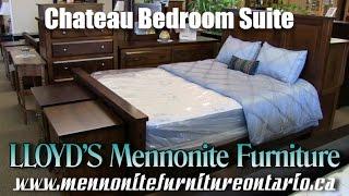 Mennonite 7 piece Chateau Bedroom Suite