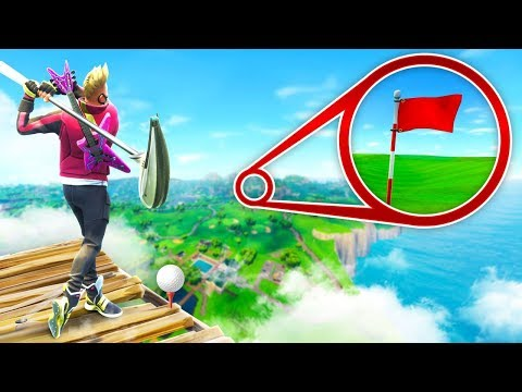 EPIC *MAX* Height Golf Shots in Fortnite Battle Royale! (видео)