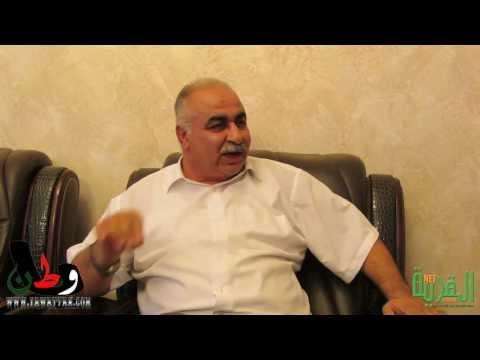 لقاء سياسي مع السيد نادر صرصور ابو شكري رئيس بلدية كفر قاسم