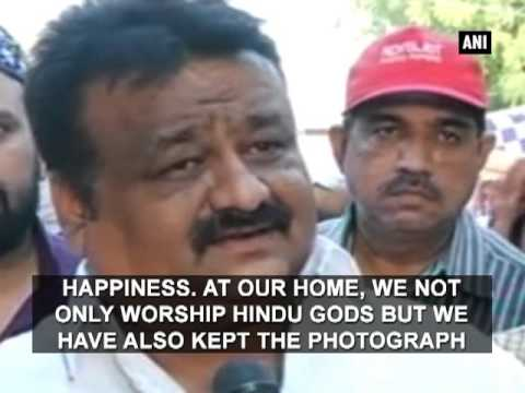 Video Hindus and Muslims pray together depicting a perfect example of communal harmony - Communal Harmony download in MP3, 3GP, MP4, WEBM, AVI, FLV January 2017