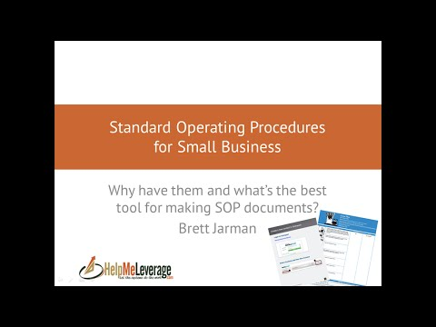 Standard Operating Procedures for Small Business - Why you need them and what's the best SOP tool