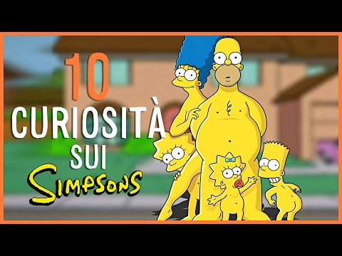 10 cose che nessuno vi dirà sui simpson!