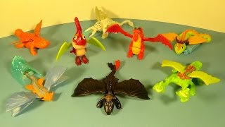 Video 2014 HOW TO TRAIN YOUR DRAGON 2 SET OF 8 McDONALD'S HAPPY MEAL MOVIE TOY'S VIDEO REVIEW MP3, 3GP, MP4, WEBM, AVI, FLV Juni 2018
