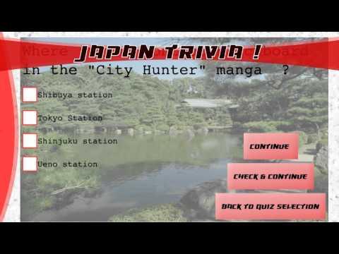 Video of Japan Trivia !