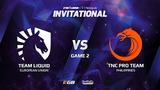 Team Liquid vs TNC Pro Team, Game 2, SL i-League Invitational S2 LAN-Final, Grand-Final