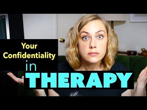 Your Confidentiality in Therapy?  Kati Morton