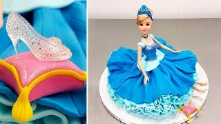 """Disney Princess Cinderella Doll Cake How To Make by Cakes StepbyStepMore cake decorating videos from Cakes StepbyStepBarbie Fashion Doll Cake https://youtu.be/Xium61g7TVEMAKE UP Cosmetics Box Cake  *Pastel Caja De Maquillaje https://youtu.be/fdm_2z7wznoHuge Kinder Surprise Cake with SURPRISE TOY Insidehttps://youtu.be/Z3-q41dNes0How To Make a Disney MINNIE MOUSE Cake - Pastel de la Minnie https://youtu.be/bZEgv6_BMxMTo stay up to date with my latest videos, make sure to SUBSCRIBE to this YouTube channel (if you are not).To find out more about the items I use, please visit: http://www.cakesstepbystep.com/You can support this channel by sharing my videos. Thank you!************************FOLLOW ME*********************************INSTAGRAM  http://instagram.com/cakesstepbystep/*FACEBOOK     https://www.facebook.com/cakesstepbystep/Cakes StepbyStep is about cakes and cupcakes decorating with fondant and buttercream frosting. Also you can watch simple chocolate decoration techniques and cake recipes. Learn with me basic cake decoration techniques which will help you to decorate your own cake masterpiece. ***********HAVE FUN!Music credit""""Sunny""""  Bensound.comhttp://www.bensound.com/royalty-free-musicLicensed under Creative Commons: By Attribution 3.0https://creativecommons.org/licenses/by-nd/3.0/legalcode""""Buddy""""  Bensound.comhttp://www.bensound.com/royalty-free-musicLicensed under Creative Commons: By Attribution 3.0https://creativecommons.org/licenses/by-nd/3.0/legalcode""""Little idea""""  Bensound.comhttp://www.bensound.com/royalty-free-musicLicensed under Creative Commons: By Attribution 3.0https://creativecommons.org/licenses/by-nd/3.0/legalcode"""