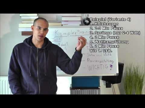 Beste Maximalkrafttraining & Schnellkrafttraining! - Komplextraining - Teil 2 - (Krafttraining)