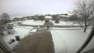 Bellevue (NE) United States  city photo : 2 Feb 2016 Snow Day - Bellevue, Nebraska U.S.A