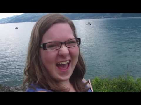 RIDING ON A TRAIN IN THE CAR!?!?! [Switzerland, Day 1]