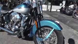 2. 082628 - 2006 Harley Davidson Softail Springer Classic FLSTSCI - Used Motorcycle For Sale