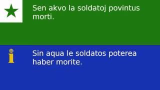 Frazoj el: / Phrases de: http://tatoeba.org/ Traducite in interlingua per Scriptor con adjuta de Laurentio e Carlos.