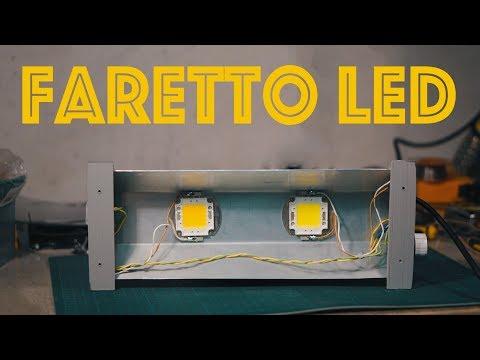 Faretto LED Super Economico da 30W - Fai da Te