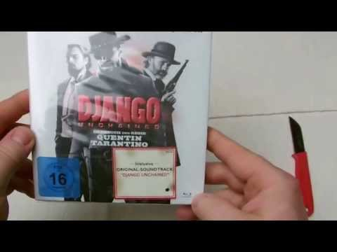 DJANGO UNCHAINED BluRay + Soundtrack Exclusive Müller Edition