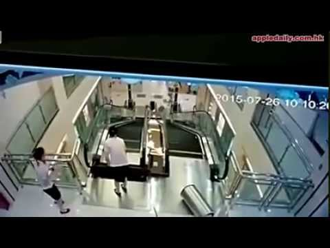 Chinese mother saves son in dramatic video
