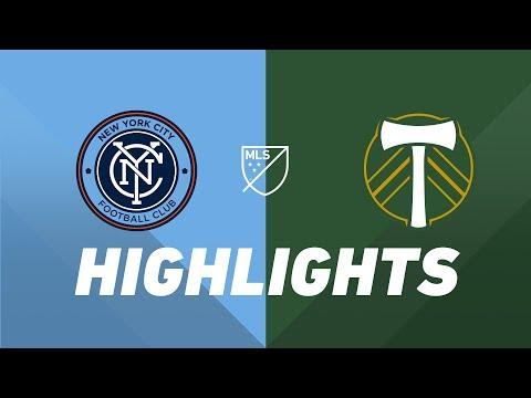 FC New York City 0-1 Portland Timbers