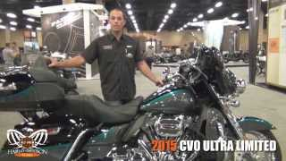 8. New 2015 Harley Davidson CVO Ultra Limited Motorcycle