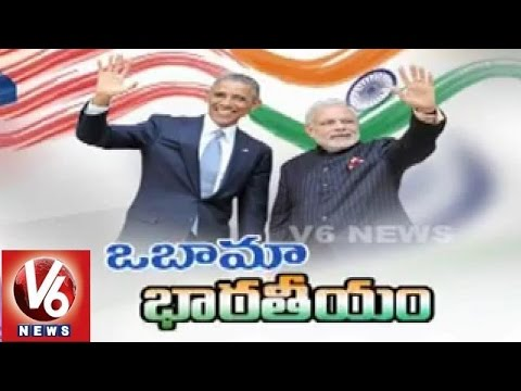 Barack Obama India tour strong ties between two countries  V6 Spot Light29012015