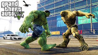 GTA 5 Mods - HULK VS ABOMINATION! (GTA 5 Mod Gameplay)