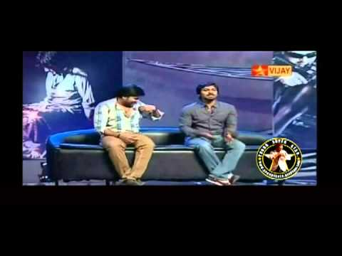 vaibhav - STR hit me for punching thala in mankatha - vaibhav source : VIJAY TV [Happy B'day THALA - special program]