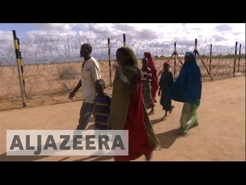 Somalis return to Kenya to escape drought at home (видео)
