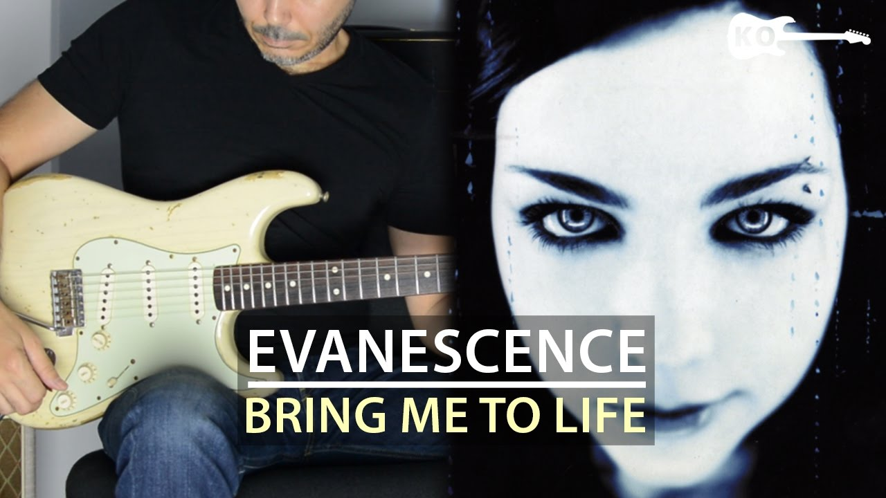 Evanescence – Bring Me To Life – Electric Guitar Cover by Kfir Ochaion