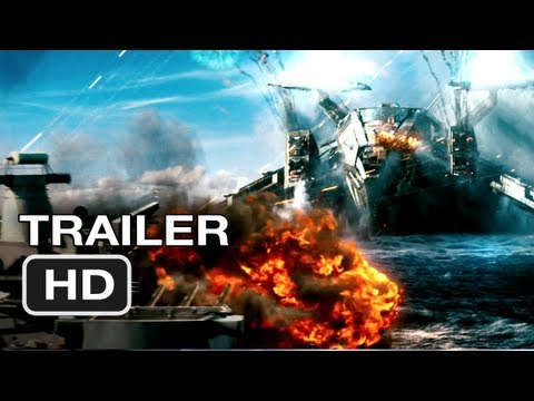 Trailer - Battleship Official Trailer #2 - Rihanna Movie (2012) HD