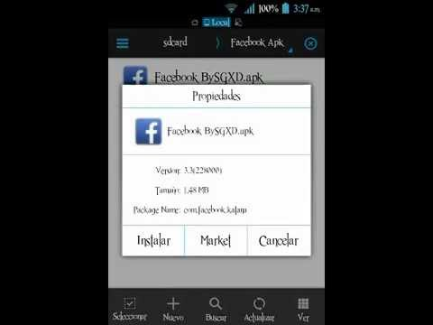 Descargar Facebook Para Android [Version Ligera] [No Necesita Messenger] [Apk] [Android 2.3+] para celular #Android