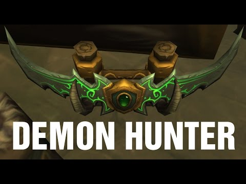 Forged in Fire WoW Demon Hunter Quest