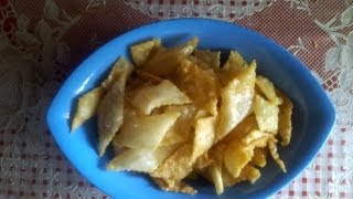 Inippu Kathiri mitti or sweet maida biscuits