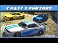 FAST & FURIOUS CAR MEET & DRIFT (GTA 5 Online)
