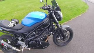 6. 2017 Suzuki SV650 Mods and Walkaround