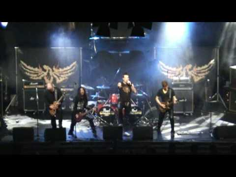 Iron Fire Tour Of Triumph (Thunderstorm) online metal music video by IRON FIRE