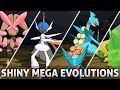 Pokemon Omega Ruby And Alpha Sapphire All Shiny Mega Evolutions