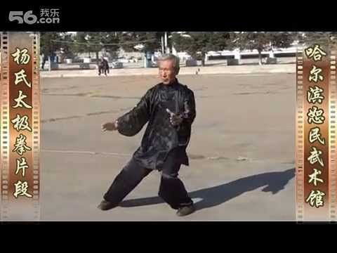 Huang Ren Jun (Shifu of Dr. Lu Guangyi) – Yang Taiji traditional form