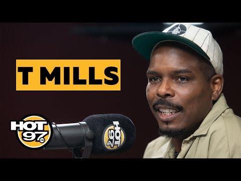 T. Mills Gets Grilled About Kanye West & Speaks On Tekashi 6ix9ine & NYFW