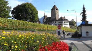 Spiez Switzerland  city images : Spiez, lake Thun Switzerland - Spiez, lago Thun, Suiza