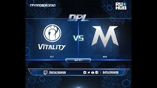 IG.V vs MAX, DPL 2018, game 2 [Mila, Inmate]