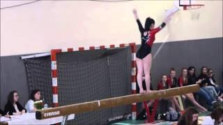Chartres-de-Bretagne France  city images : 20160312 Compétition gymnastique CHARTRES DE BRETAGNE - National B équipe