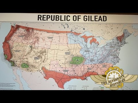 What is Happening Inside the Republic of Gilead? (A Map Analysis)