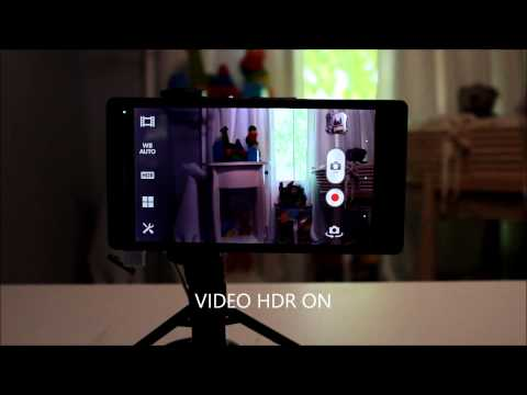 Sony Xperia Z HDR video compilation