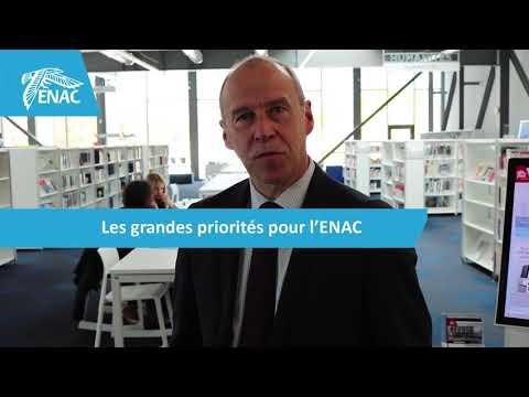 Interview d'Olivier Chansou - Directeur de l'ENAC