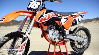 10. First Ride 2015 KTM 250SXF Motocross Action Magazine