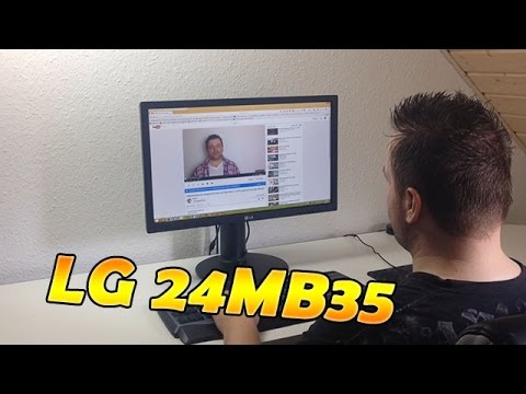 LG IPS Monitor 24MB35PM-B - Unboxing und Review - HD Deutsch